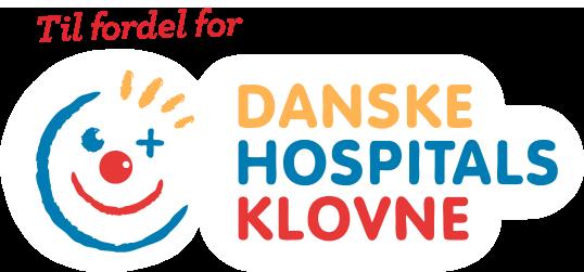 Danske hospitals klovne, fordel, støtter