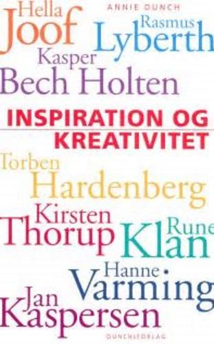 inspieration og kreativitet bog
